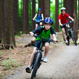 Childrens Mountain Bike Hire in Aviemore